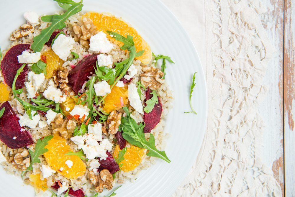 Une recette de salade santé à l'orge