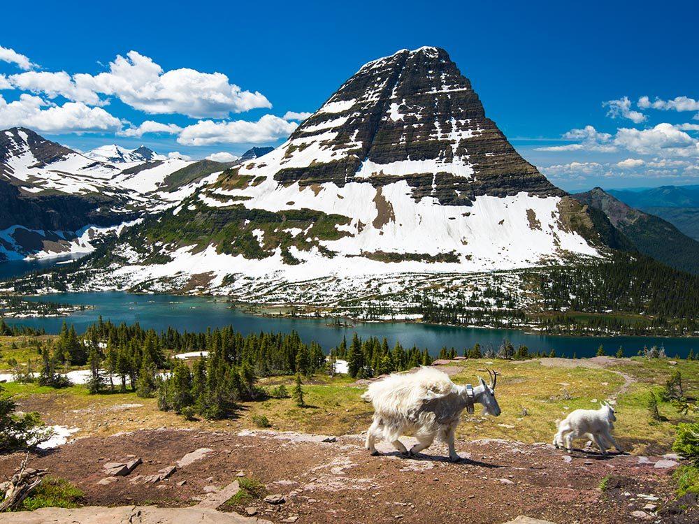 Randonnées à faire aux États-Unis: Hidden Lake.