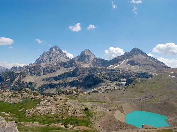 Randonnées à faire aux États-Unis: Teton Crest.