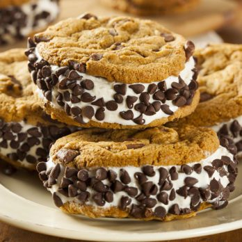 Biscuits à la crème glacée décadents