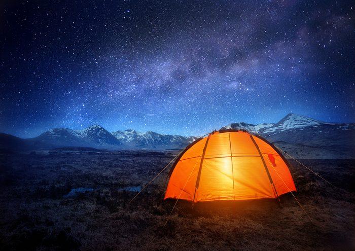 Arriver durant la nuit, une erreur à ne pas faire en camping.