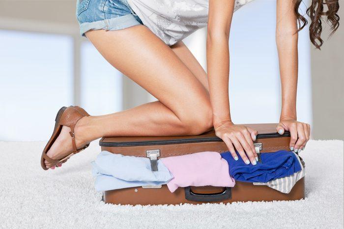 Pesez vos bagages avant de partir.