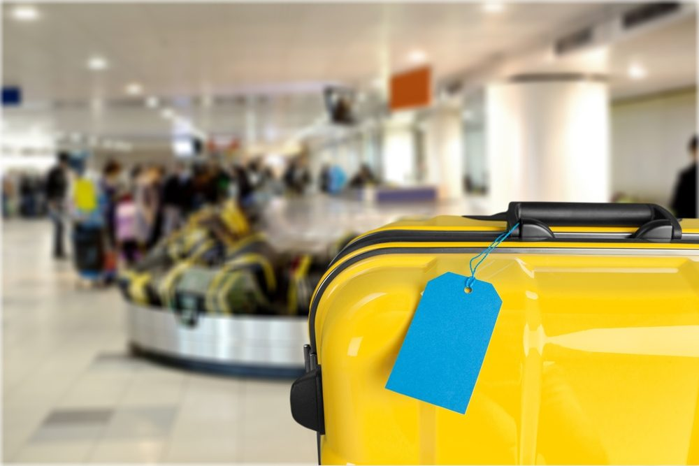 Identifiez vos bagages.