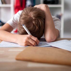 La rentrée scolaire peut être une source de stress pour les enfants.