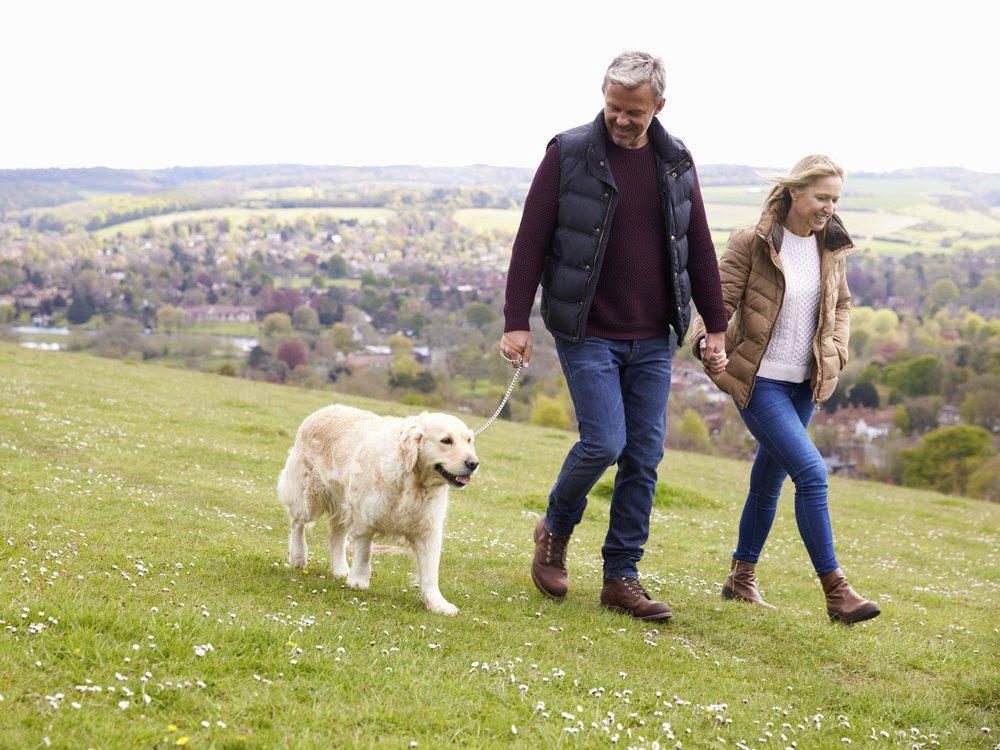 La marche qui-sauve-le-couple est une bonne façon de perdre du poids.