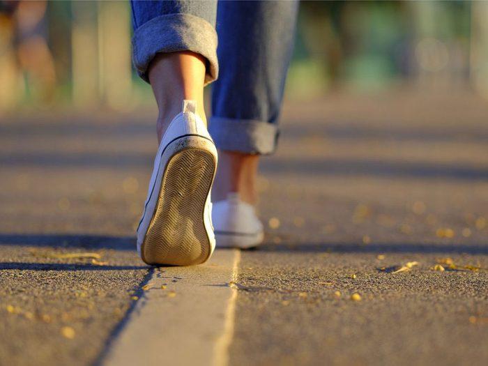 La marche rendez-vous est une bonne façon de perdre du poids.