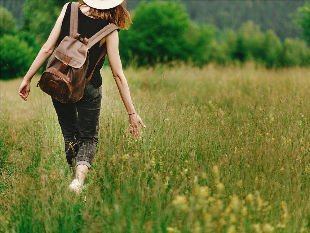 La marche spirituelle est une bonne façon de perdre du poids.