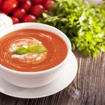 Potage aux tomates du Moyen-Orient