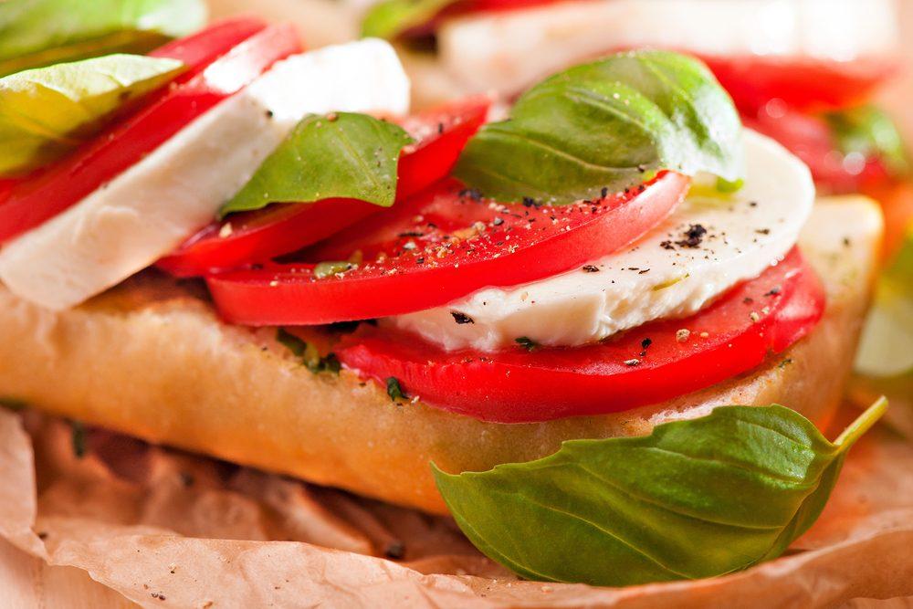 Une recette de sandwich pour cuisiner les tomates fraîches