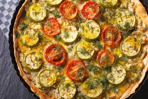 Tarte provençale aux légumes