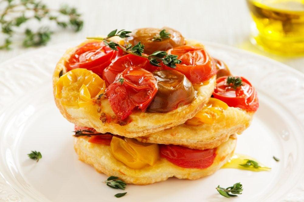 Une recette pour cuisiner les tomates fraîches de tartes tatin