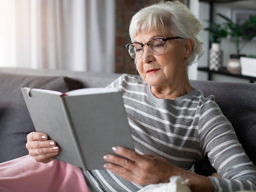 Le vieillissement n'entraine pas une atrophie du cerveau.