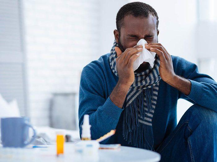 Être en colère affecte le système immunitaire.