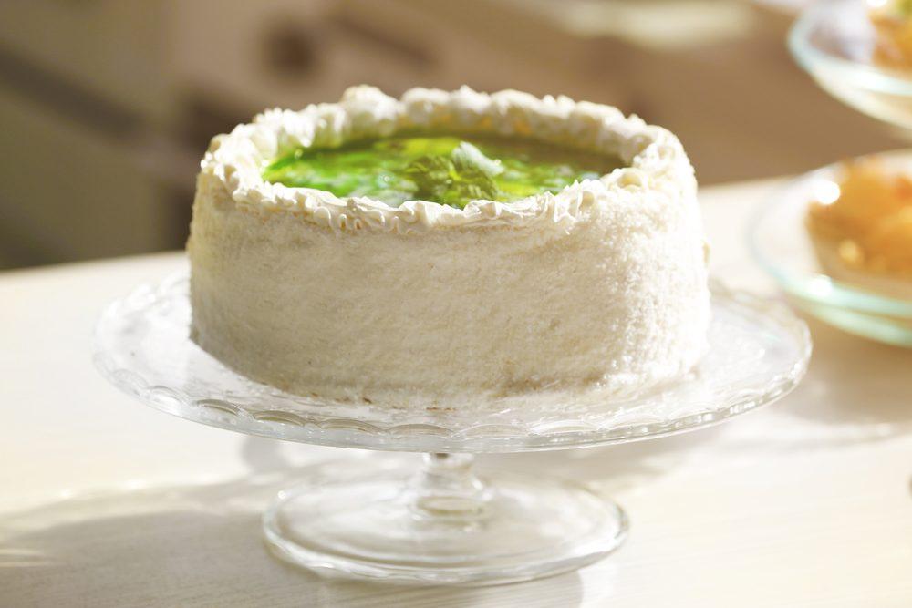 Une recette de gâteau vert aux légumes