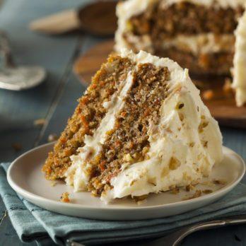 Gâteau à la carotte et à l'ananas