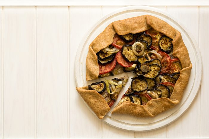 Une recette de tarte réconfortante aux légumes