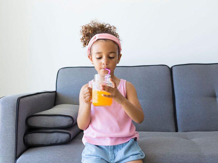 Éviter les sodas et les boissons énergisantes pour le retour à l'école.