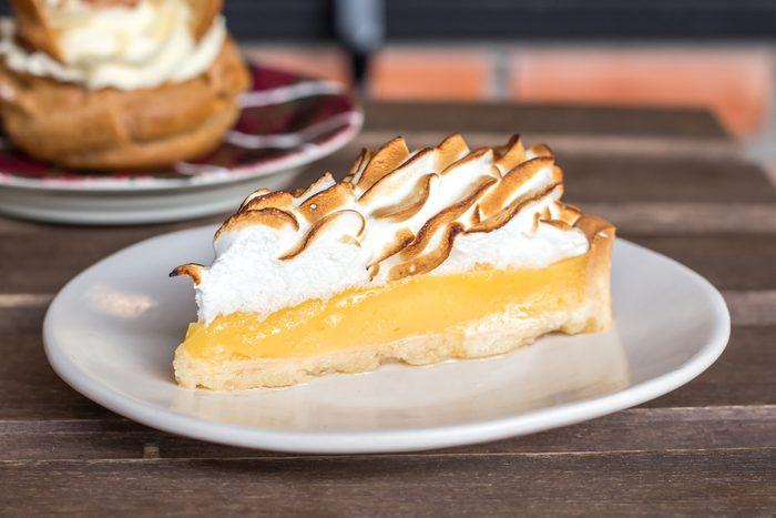 Une tarte au citron réconfortante
