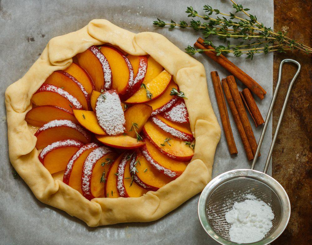 Une tarte aux nectarines réconfortante