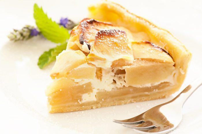 Une tarte aux pommes suprême réconfortante