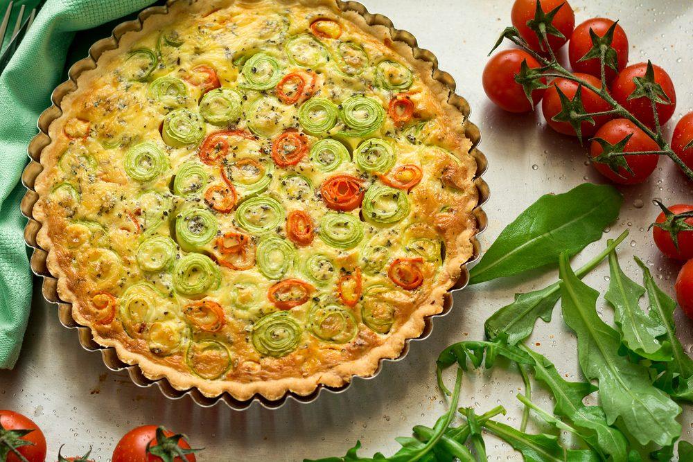 Une tarte provençale aux légumes réconfortante