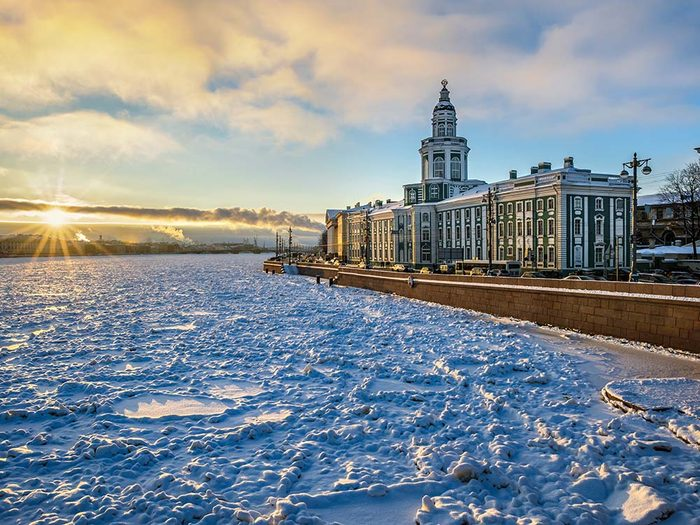 Kunstkamera en Russie est une destination terrifiante.