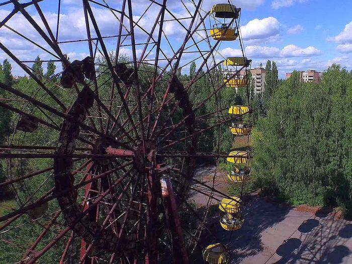 La cité fantôme Pripiat au nord de Kiev est une destination terrifiante pour les souvenirs de catastrophe qu'elle représente.
