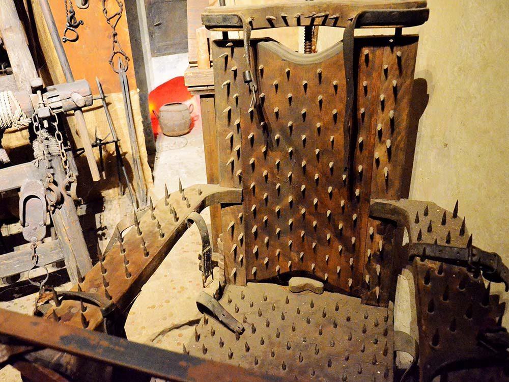 Le musée de la torture, Prague est une destination des plus terrifiantes au monde.