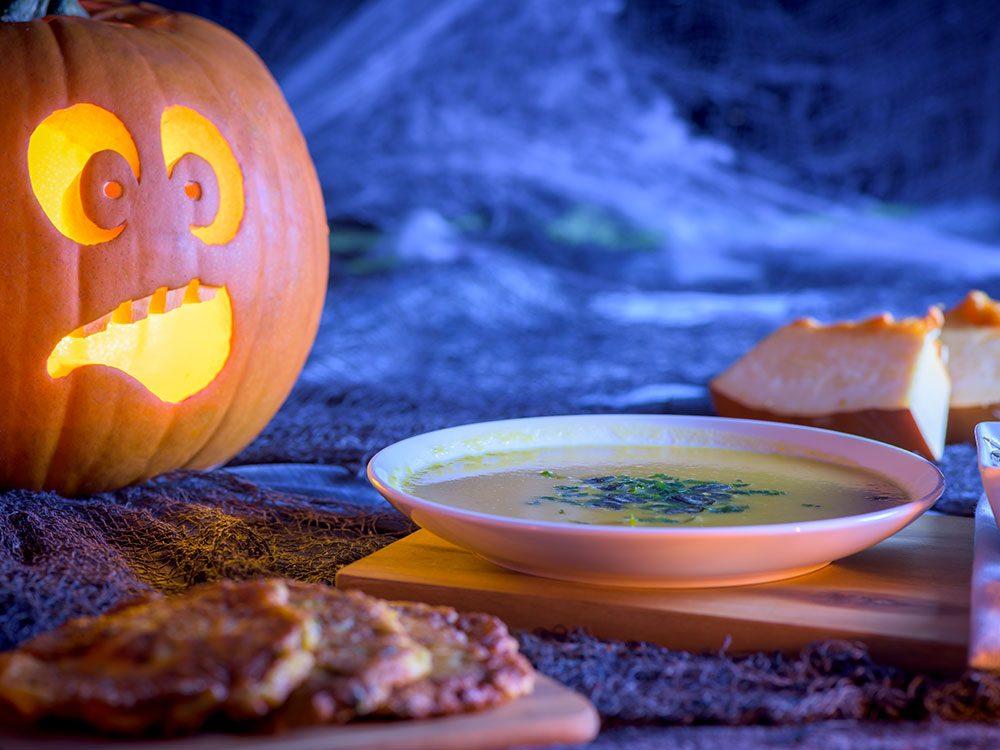 Un velouté poison pour l'Halloween.