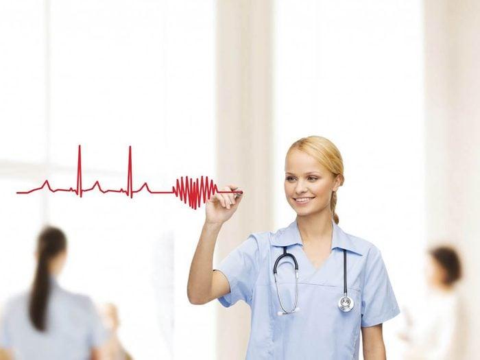 Le cholestérol augmente le risque de problème cardiaque.