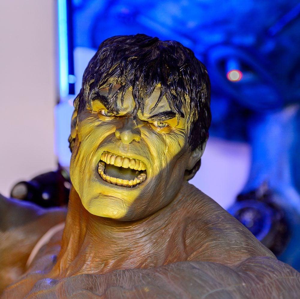 Parmi les films tournés au Canada, L'incroyable Hulk.