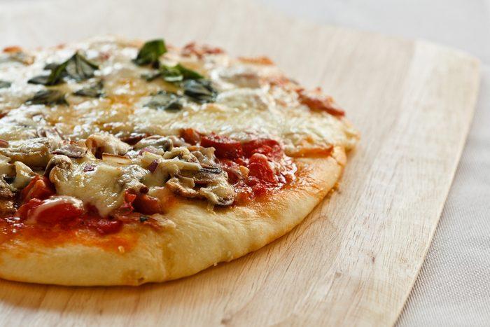 Une recette santé de pizza-minute