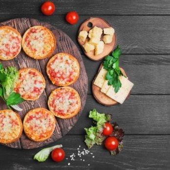 « Pizzas » portobello