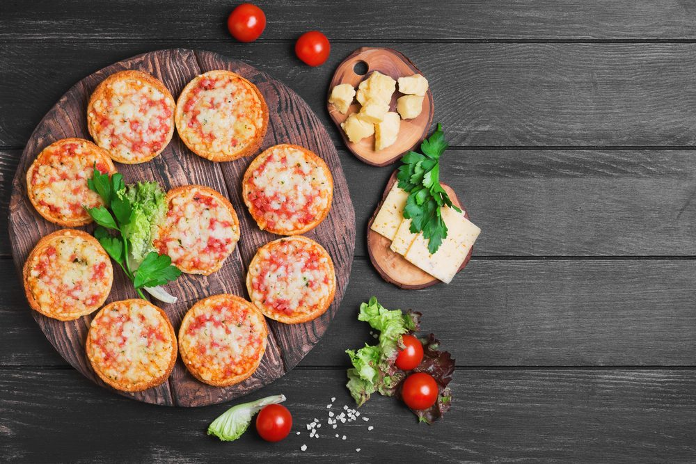 Une recette de pizza portobello