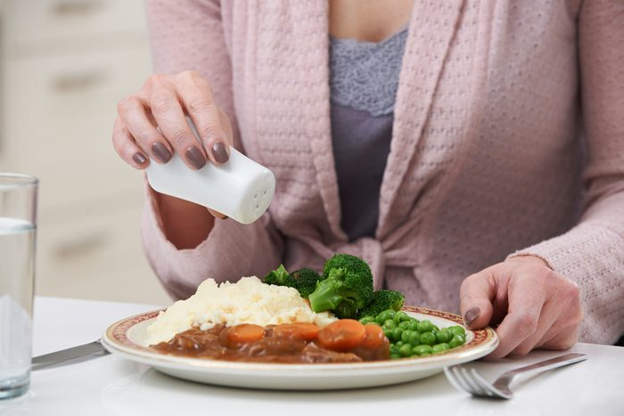 Résolution santé : coupez le sel