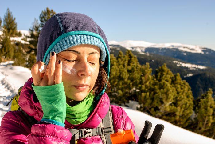 Résolution santé: portez un écran solaire... toute l'année