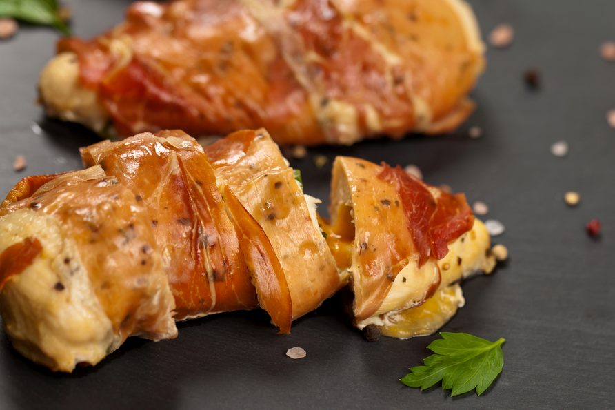 Une recette de Noël de bouchées de dinde