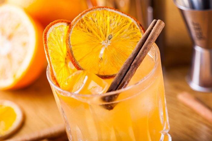 Un punch de Noël à l'orange