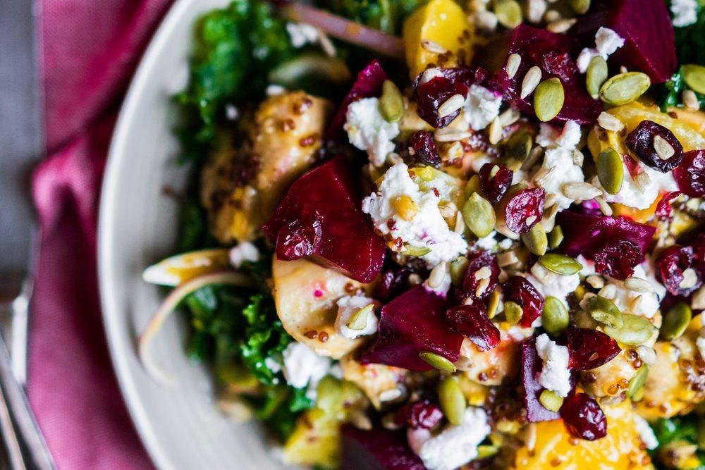 Une recette santé pour Noël de salade de betteraves à l'orange