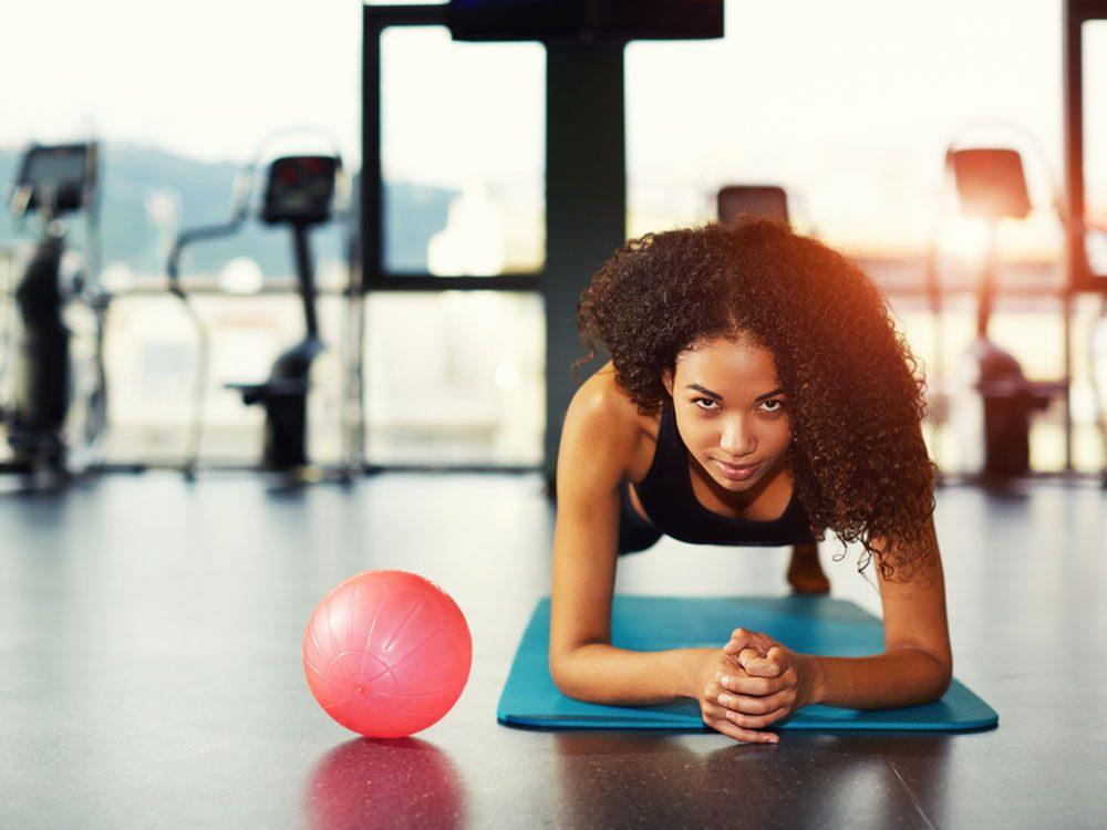 Pratiquer une activité régulière est une résolution santé.