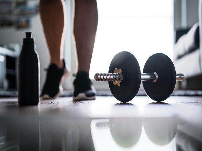 Résolution santé: entraînez-vous «en force».
