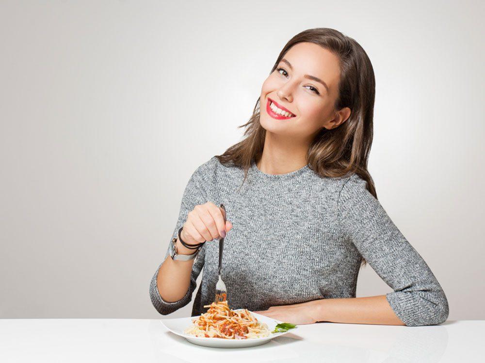 Résolution santé: contrôlez vos portions.