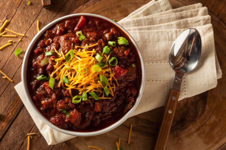 Les meilleures recettes de chili.