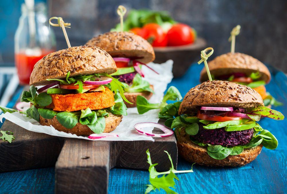Les aliments que mangent les végétaliens et leur régime.
