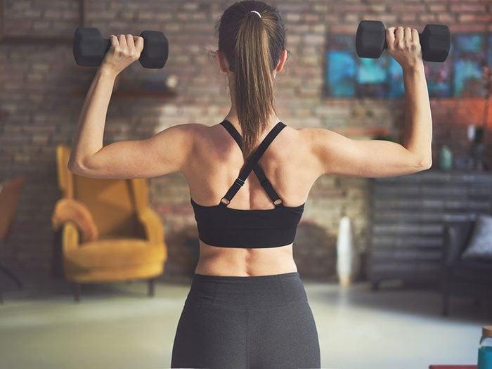 Exercices pour tonifier les muscles du haut de votre corps.