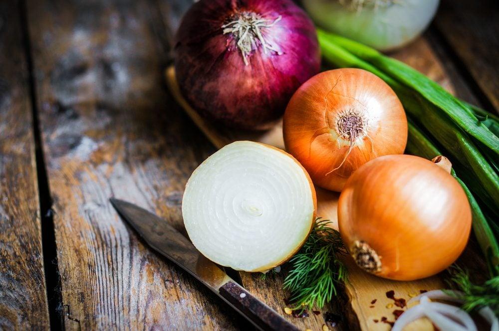 Les bienfaits des oignons: prévenir les caillots sanguins.