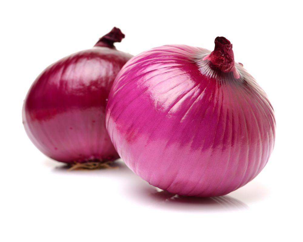 Les oignons sont riches en fibres, un bienfait santé de taille.