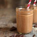 Recette santé de smoothie au cacao et à l'avoine