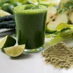 Smoothie à l'algue