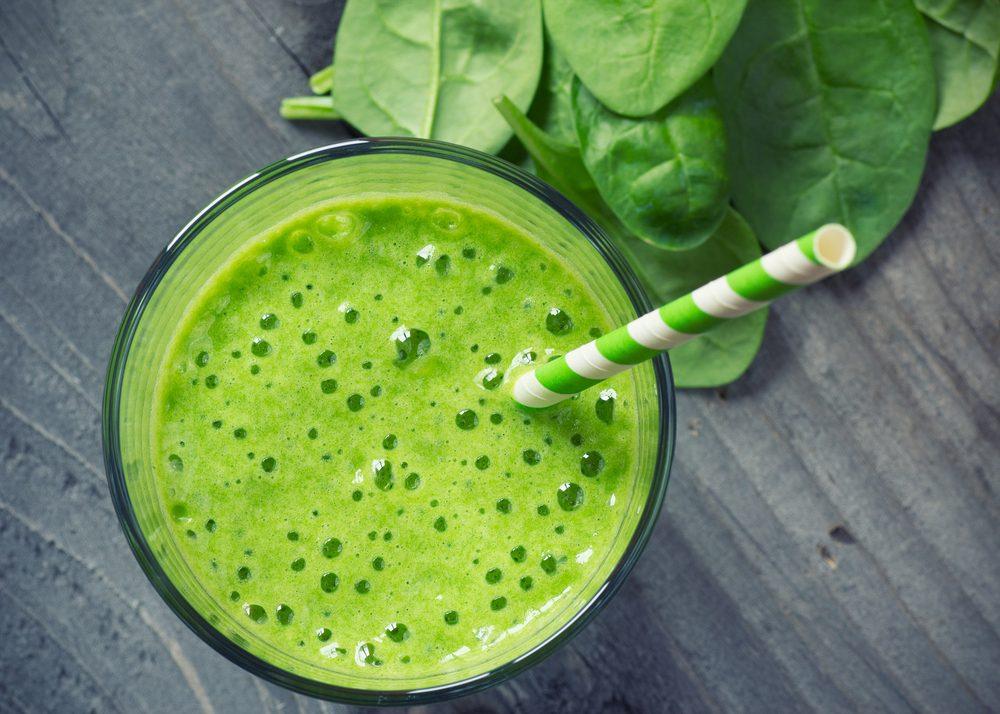 Une recette de smoothie aux fruits et aux légumes santé